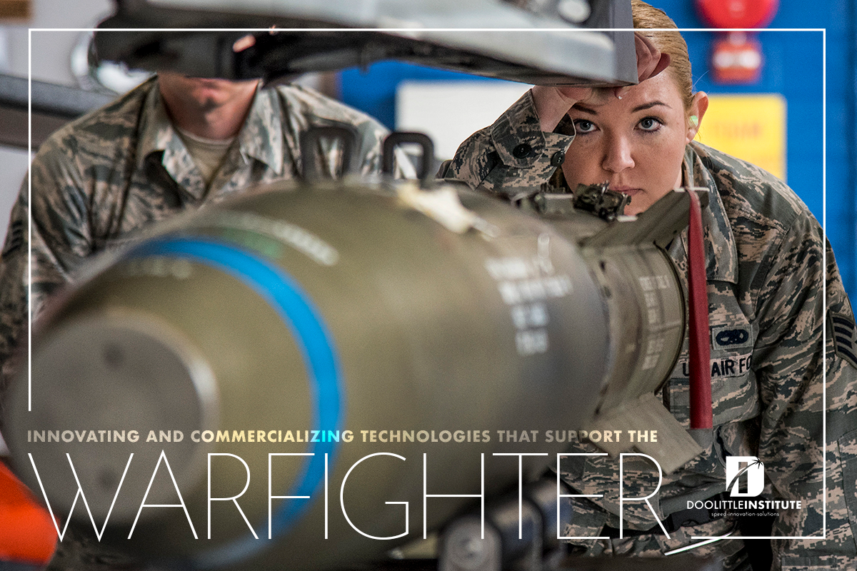 Innovating and Commercializing Technologies that support the Warfighters banner
